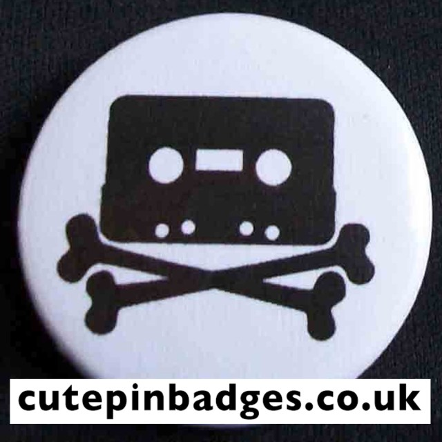 Home Taping Killing Music Badge