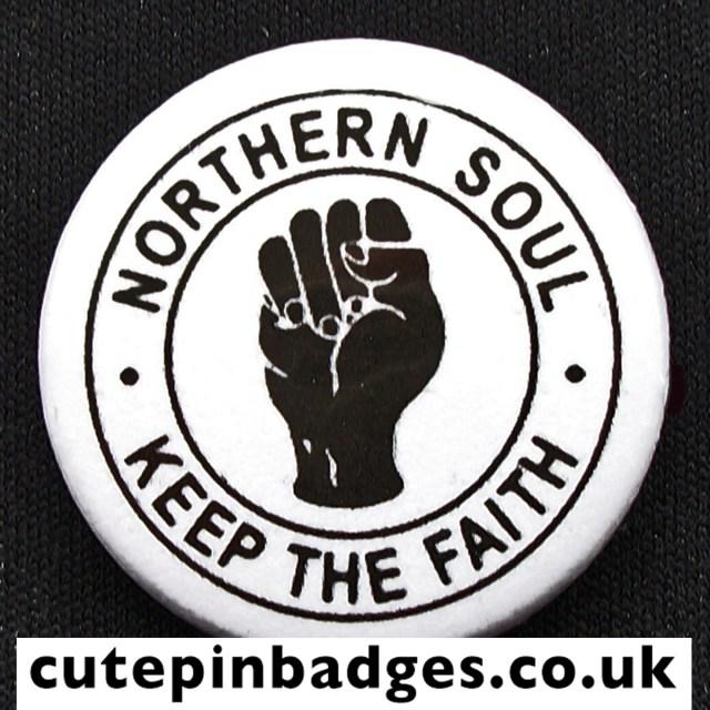 Northern Soul Badge