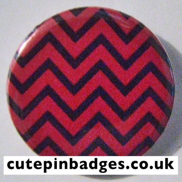 Twin Peaks Badge Red Room