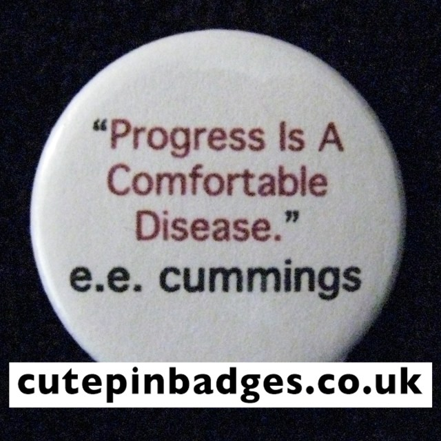 ee cummings Badge