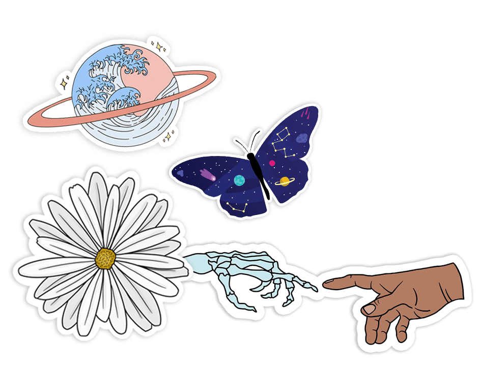 cute aesthetic stickers 5