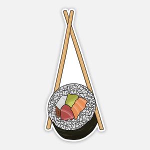 sushi sticker cute 3