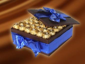 Ferrero Rocher Chocolate Box Cake