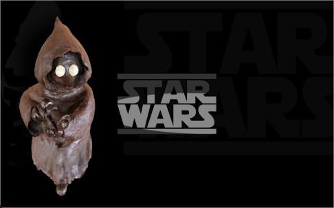 Jawa Star Wars Chocolate Cake