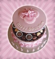 Pink Shell Cake
