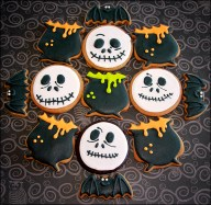 Spooky Collection Cookies