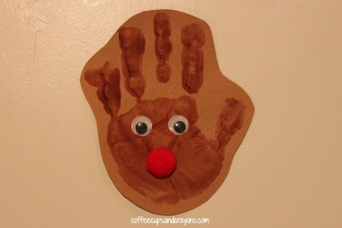 15 Fingerprint And Handprint Christmas Ornaments Cutesy