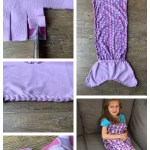 How To Make No Sew Fleece Blankets With A Braided Edge Cutesy Crafts