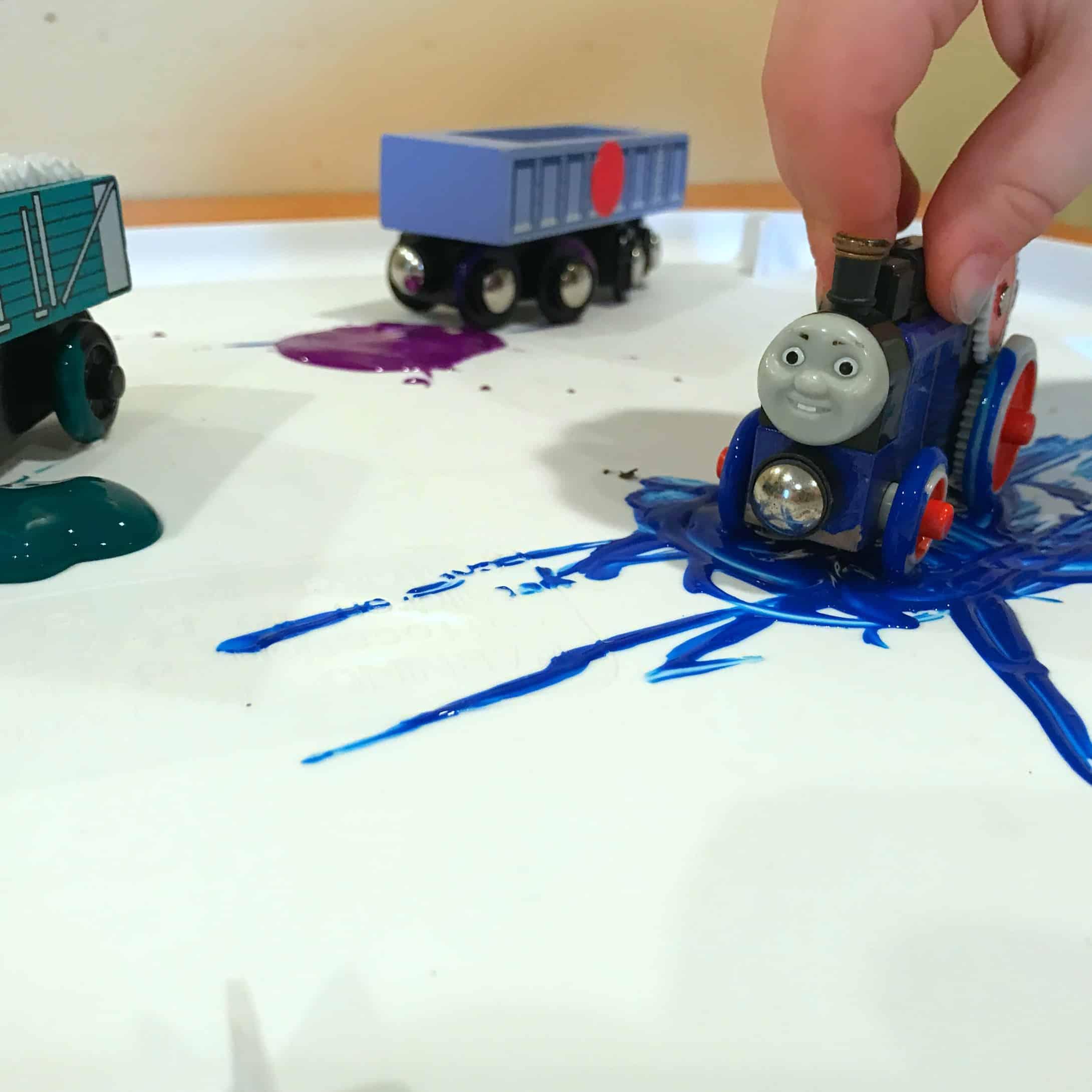 Fun Train Crafts For Kids