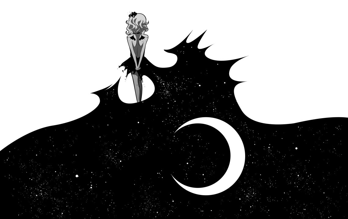 Anime Wallpaper Black And White Posted By Michelle Peltier