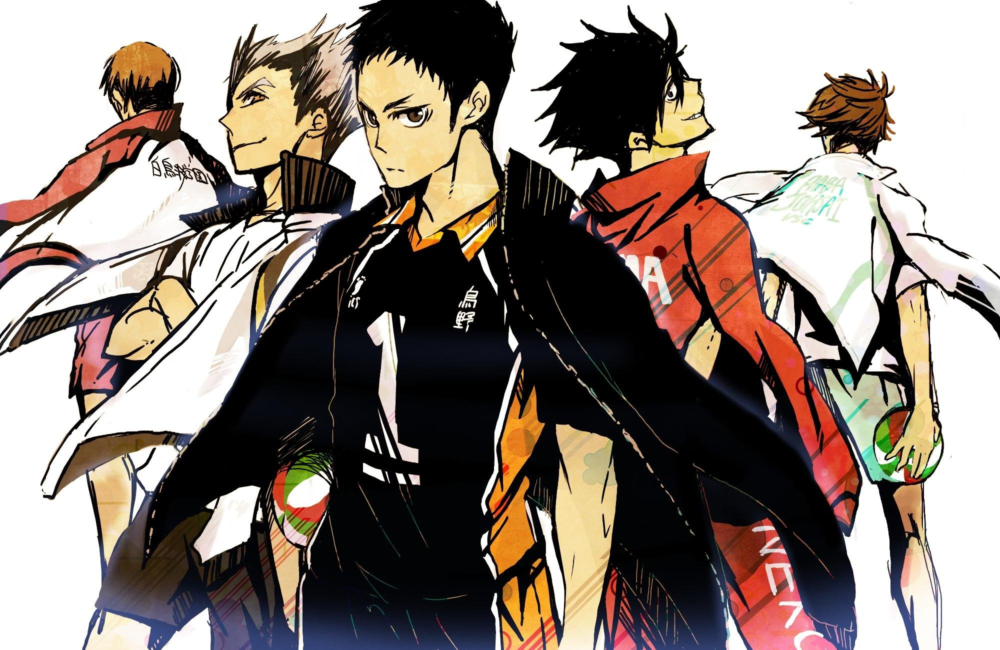 haikyu wallpapers posted by michelle