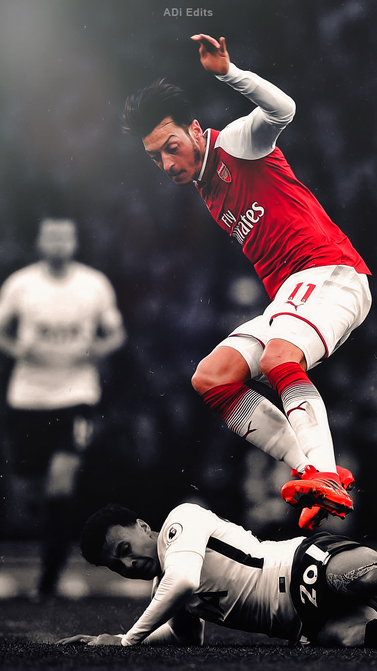 mesut ozil iphone wallpaper posted by