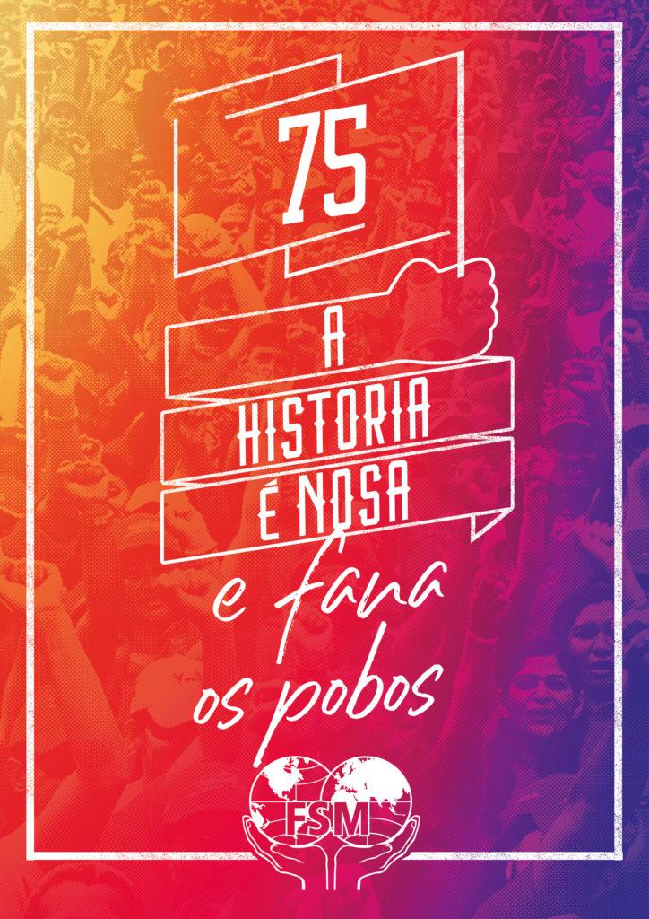 75 aniversario da Federación Sindical Mundial