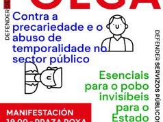 Carta folga emprego público 18 xuño 2021