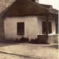 1910. Casă veche pe strada Viitorului.