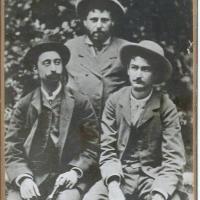 Ion Creangă, o fotografie inedită de la 1885