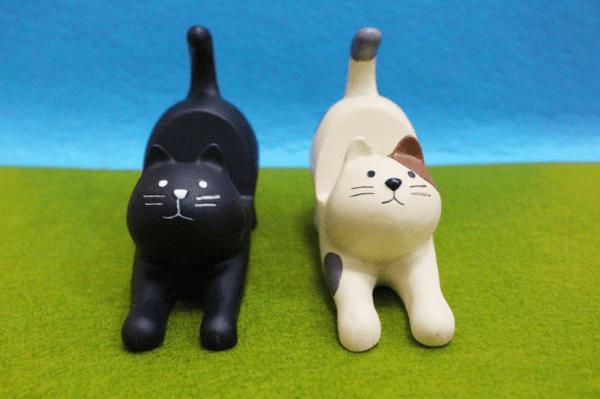 Kleuren Katten Telefoonhouder bureau – Kattenbeeldje