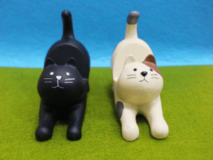 Kattenbeeldje – Katten Telefoonhouder bureau
