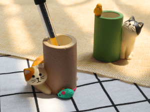 Katten penhouder – Mini Bureau Organizer