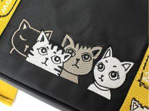 Tote Tas met Kattenprint