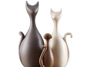 Decoratieve Kattenbeelden