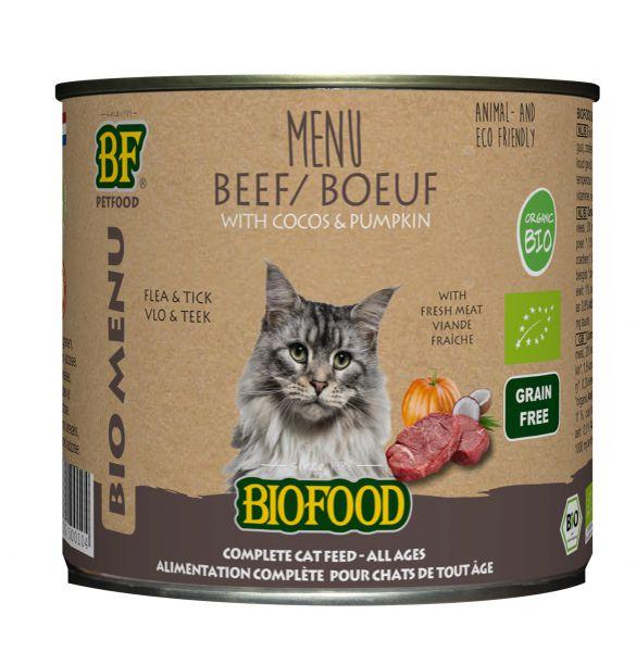 Koop Biofood Bio Kattenvoer Rund Menu