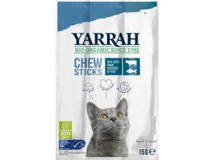 Yarrah Biologische Katten Kauwstaafjes 3 stuks