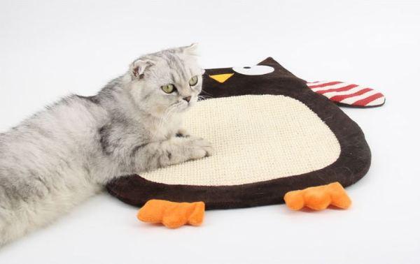 Sisal Krabmat voor Katten met schattige kat