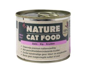 Nature Cat Food – Zalm & Kip 200g