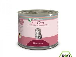 Herrmann's Kittenvoer – Gans met Ganzenvet & Pompoen