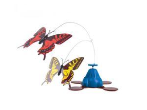 Elektrisch Kattenspeelgoed Vlinder