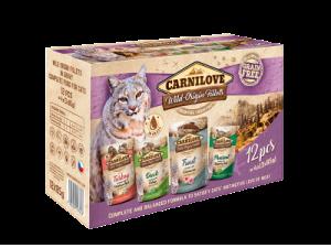 Carnilove Katten Natvoer Multipack 12 x 85g