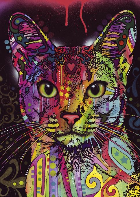 Abessijnse kat katten puzzel