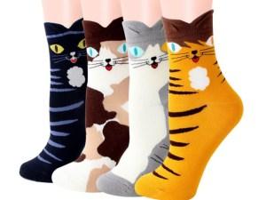 Happy Cat Socks | Maat 36-43
