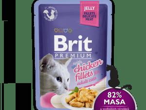 Brit Premium Katten Natvoer in Gelei 85g