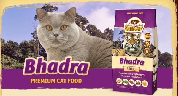 Wildcat Kattenvoer Bhadra is hypoallergeen kattenvoer