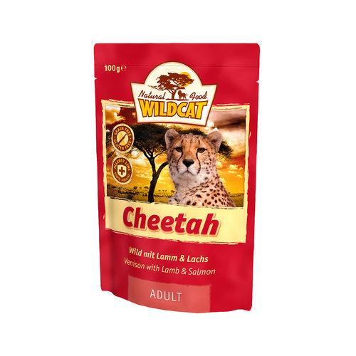 Wildcat Natvoer voor Katten 100g Cheetah (wild, lam & zalm)