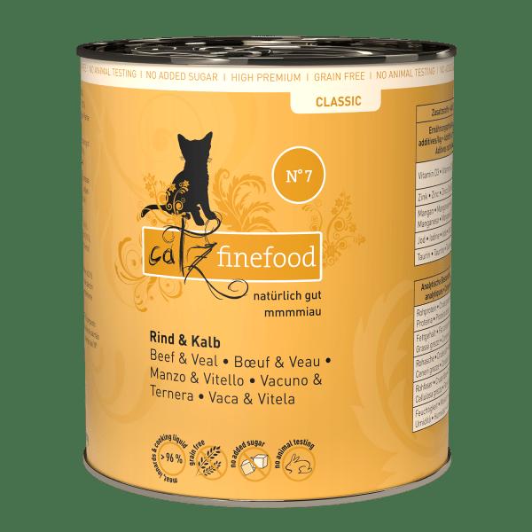 Catz finefood N°7 – Rund & Kalfsvlees
