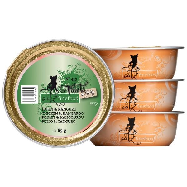 Catz finefood Filets N°415 – Kip & Kangoeroe in Gelei