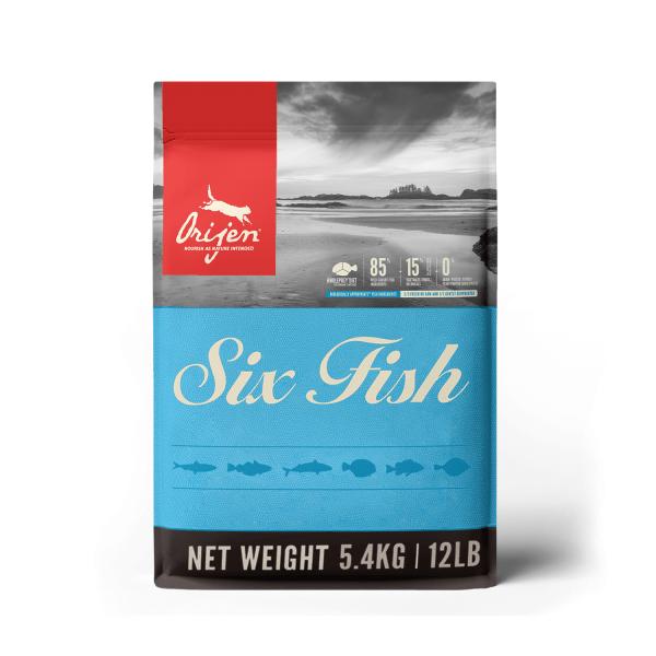 Orijen Six Fish Kat 5.4kg