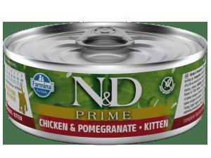 Farmina N&D Prime Kitten Natvoer 80g