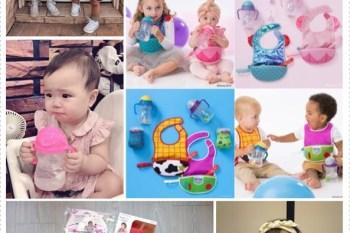 親子|澳洲 b.box × Disney 迪士尼 × HELLO KITTY 水杯、圍兜、吸管碗,適合的餐具讓寶寶一用就上手♥