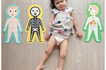親子|美國 Banana Panda 兒童全方位教育拼圖,遊戲時也能加強 STEAM 認知學習♥