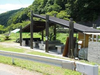 知明湖キャンプ場 炊事棟