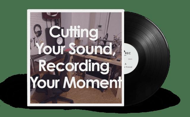 CUT&RECのオリジナルレコード