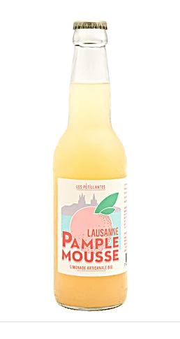 Limonade artisanale petillante Pamplemousse