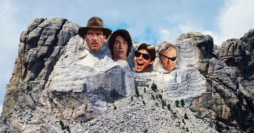 Mount Rushmore of Action Stars