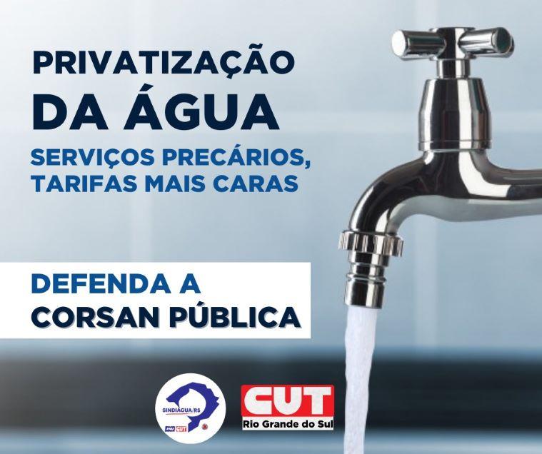Corsan - privatização