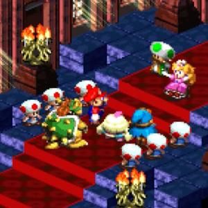Super Mario RPG: Bowser, Mario, and Toadstool