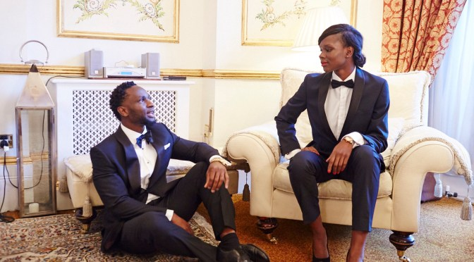 Styling a tux, for Him and for Her: Cuts for Him